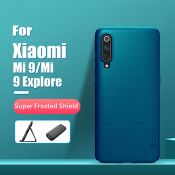 For xiaomi mi 9 case cover 6.39'' NILLKIN Frosted PC Matte hard back cover Gift Phone Holder mi 9 case for xiaomi mi9 mi 9 pro