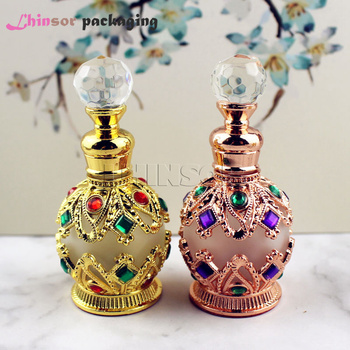 15ml Antique Perfume Bottle Empty Glass Essential Oil  with  Dropper Cosmetic Container Craft Decoration Gift 5ml10ml15ml20ml30ml50ml100ml empty cosmetic dropper bottle blue essential oil containers glass pipettes essence package