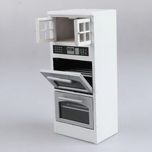 Oven Furniture-Kits Dollhouse Living 1/12-Scale of Home Microwave