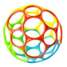 1шт большой погремушки развитие ребенок интеллект хватка десны волна мяч рука колокольчик забавный укус ловушка отверстие игрушки для детей младенец игрушка