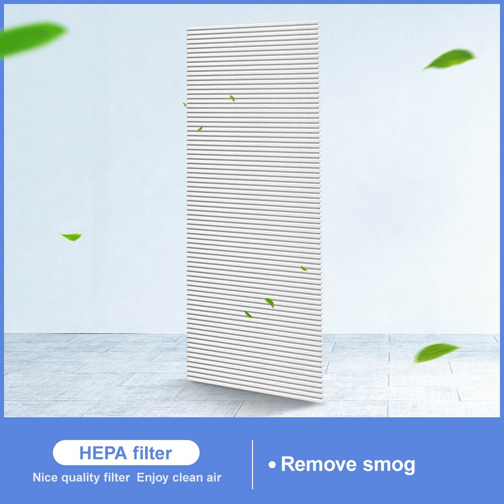 DIY Generic 300*1200mm Hepa Filter Paper With Folds Screen Homemade Car Air Purifier Air Conditioning Dust Net Cotton Pm2.5