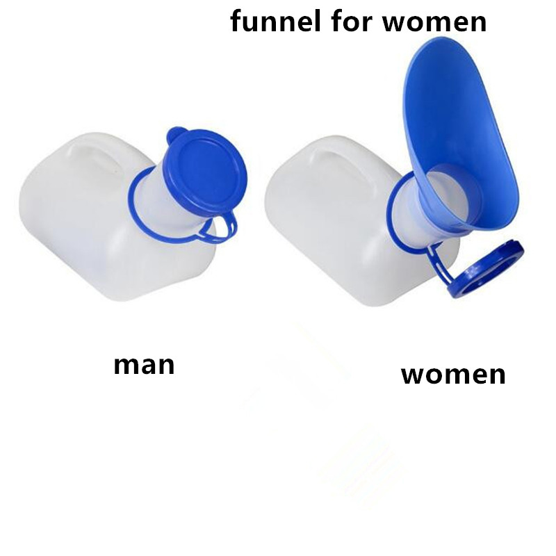 Hot Sale 1000ML Female Male Portable Mobile Toilet Car Travel Journeys Camping Boats Urinal Outdoor Supllies 2