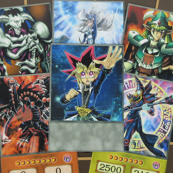 16pcs/set Yugi Muto Classic Anime Style Cards Yugi-Boy Signature Cards Cetic Guardian Silent Magician Hard-paper Card Orica