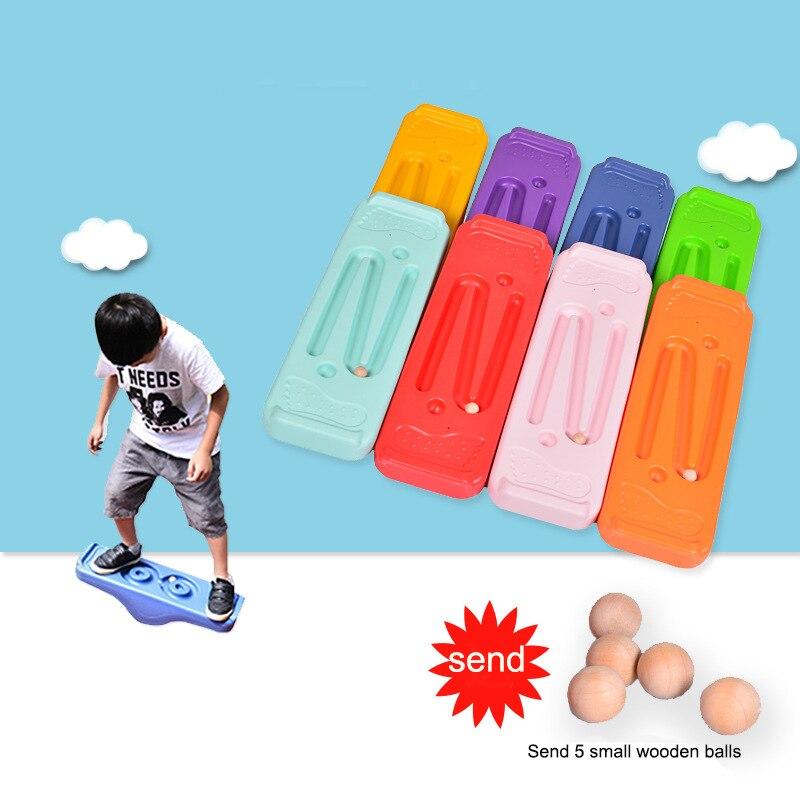 Planche d'équilibre Portable pour enfants, jouet de sport de plein air, éducation précoce, balançoire de Fitness, entraînement à l'équilibre