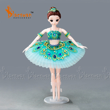 Kids Ballerina Doll Gulnara from Le Corsaire Medora in Professional Ballet Stage Costume 12 inches Rotating Doll Girls Gift AC24