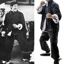 Kung Fu Uniform Traditional Chinese Clothing for Men Wushu Tai Chi Bruce Lee Costume Hanfu Blouse 3PCs Women Clothes Tang Suit