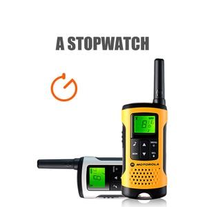Image 2 - Motorola Tlkr T50 Walkie Talkie Met 20 Kanalen 6Km Afstand Outdoor Walkie Talkie Ondersteuning Ni Mh Batterij & Aaa Batterij