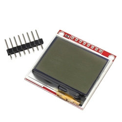 A20 -- 3,3 В обновления 5110 ЖК-модуль монитор дисплея HX1230 96x68 изображение текста дисплея