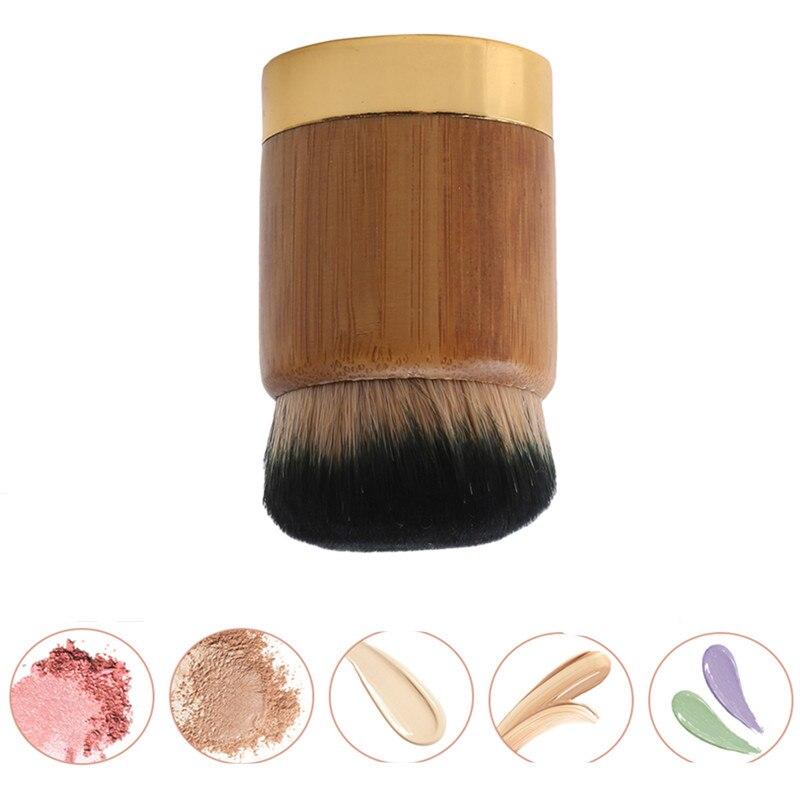 Высокое качество креативные бамбуковые Кисточки для макияжа модные бамбуковые ручки свободные кисточки Пудра основа Румяна контурная