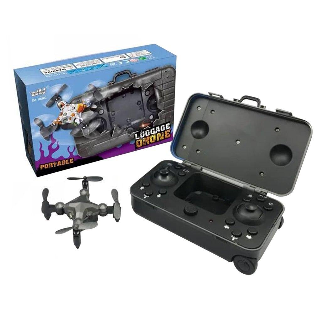 Luggage Mini Drone Wifi Mini Folding Quadcopter Remote Control Aerial Aircraft Gravity Sensor Portable