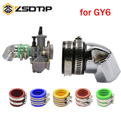 ZSDTRP For GoKart GY6 125cc 150cc Chinese Scooter Intake Manifold 27mm  Pipe Engine Durable Accessories