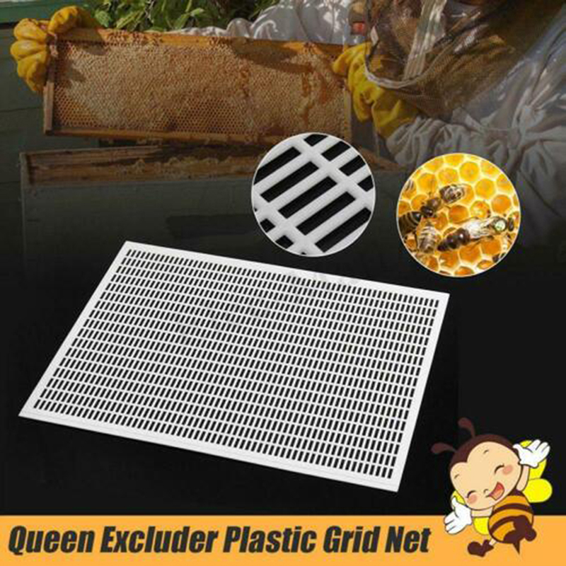 10 Frame Beekeeping Beekeeper Bee Queen Excluder Trapping Grid Net Tool Kits