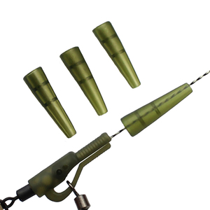 100P Carp Fishing Accessories Tail Cones Lead Sinker Mini Anti-tangle Sleeve for Hair Chod Helicopter Rigs Method Feeder Tackle