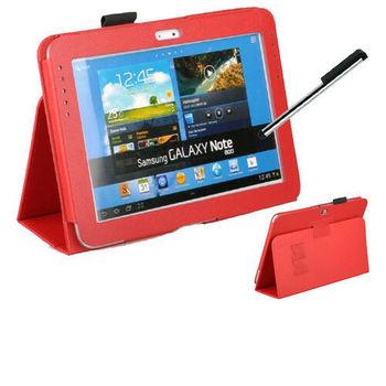 "Tablet PU deri kılıf kapak Samsung Galaxy not 10.1 ""2012 yayın GT-N8000 N8000 N8010 N8020 standı kapak Funda conque kılıfı"