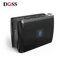 DOSS Genie Portable Bluetooth Speaker IPX4 Mini Wireless Loudspeaker Stereo Clean Sound Box with Built in Mic for Gift Present
