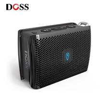 DOSS Genie Tragbare Bluetooth Lautsprecher IPX4 Mini Wireless Lautsprecher Stereo Sauberen Klang Box mit Eingebautem Mikrofon für Geschenk Präsentieren