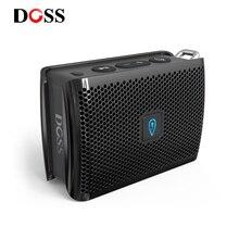 DOSS Genie przenośny głośnik bluetooth IPX4 Mini głośnik bezprzewodowy Stereo czysty głośnik z wbudowany mikrofon na prezent obecny