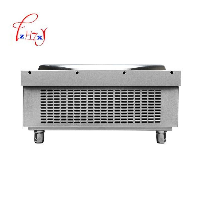 Промышленная вогнутая индукционная плита 8 кВт, электромагнитная плита, промышленная электрическая печь для жарки, приготовление пищи с подогревом, 1 шт. 5