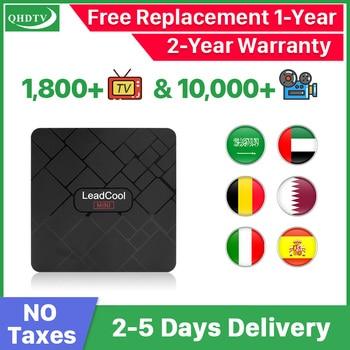 QHDTV IPTV Arabic Belgium IPTV Spain Germany Leadcool Mini Android 8.1 IPTV Netherlands Spain Germany Belgium no app included qhdtv ip tv arabic netherlands france iptv box hk1 mini android 9 0 4g 128g bt dual band wifi iptv france arabic belgium qhdtv