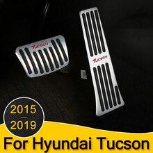 Автомобильный акселератор, газ, тормоз, педаль сцепления, подставка для ног, педали, накладка на/MT для hyundai Tucson,,,,, аксессуары