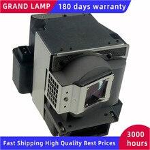 VLT XD221LP için konut ile uyumlu projektör lambası Mitsubishi GX 318/GS 316/GX 540/XD220U/SD220U/SD220/XD221 mutlu BATE