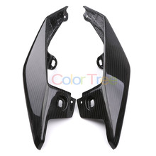 Carbon Fiber For Yamaha MT-09 MT09 MT 09 FZ09 FZ-09 2017 - 2019 2018 motorcycle Rear Seat Fairing Side Panel Cover for yamaha mt 09 fz 09 mt09 fz09 2014 2016 motorcycle real carbon fiber fuel gas trim fairing tank cover 100