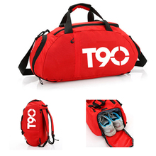 Male and Female Travel Bags New Fitness Yoga Bags with Independent Shoe Warehouse Luggage Travel Organizers Massive Handbags