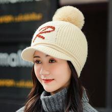 Женская кепка с козырьком женские зимние шапки шерстяные косым