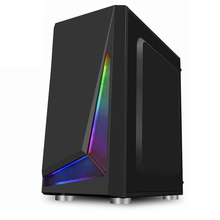 Glass-Panel Microatx-Case Pc Gaming Mid-Tower Integrated Case-Tempered IXUR USB USB3.0