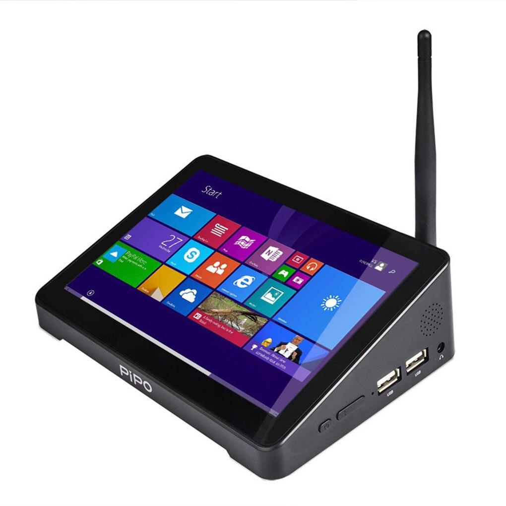PIPO x8 pro MINI PC Windows 10 Android 5,1 Intel HD Graphics 400 Mini computadora tableta con caja HD 2G/32G BT4.0 apoya la tarjeta del TF