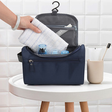 Makeup bag Cheap Women Bags Men Large Waterproof Nylon Travel Cosmetic Bag Organizer Case Necessaries Make Up Wash Toiletry Bag cheap JJDXBPPDD Oxford 5 1inch Solid 5 5inch 9 84 inch Cosmetic Cases zipper Casual 0 18kg LXB-37