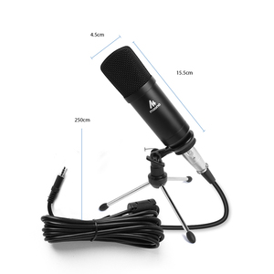 Image 2 - MAONO Condenser Podcast Microphone 3.5mm Cardioid Computer Mic With Tripod Stand for YouTube Skype Broadcasting Recording A03TR