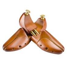 ABDB の靴ブーツ木ステレオタイプブラウン木製の調節可能な靴を保護するために潮