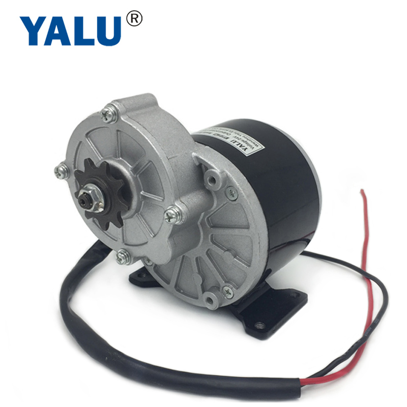 China MY1016Z3 350W 24V/36V Robot AGV high speed DIY Mountain Bycicle Scooter Permanent Magnet Ebike brush dc electric motor