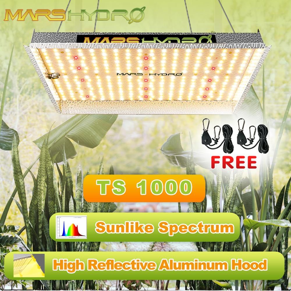 Led Grow Light TS 1000W Full Spectrum Marshydro Quantum Board Indoor Hydroponics Plant Light Greenhouse Flower Grow Lights Lamp