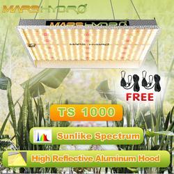 Luz Led de cultivo TS 1000W espectro completo Marshydro Quantum tablero interior planta hidropónica luz invernadero lámpara de luces de cultivo de flores