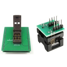 1Pcs Soic8 Sop8 Om Dip8 Ez Programmer Adapter Converter Module & 1Pcs Sot23 Sot23-6 Sot23-6L Ic Test Socket adapter(China)