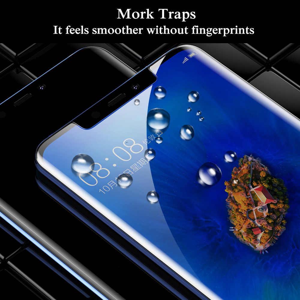 9D UV Nano ciecz zakrzywione do Samsung Galaxy S10 Lite S8 S9 Plus uwaga 8 9 pełny klej ochronne szkło hartowane na ekran pełna okładka