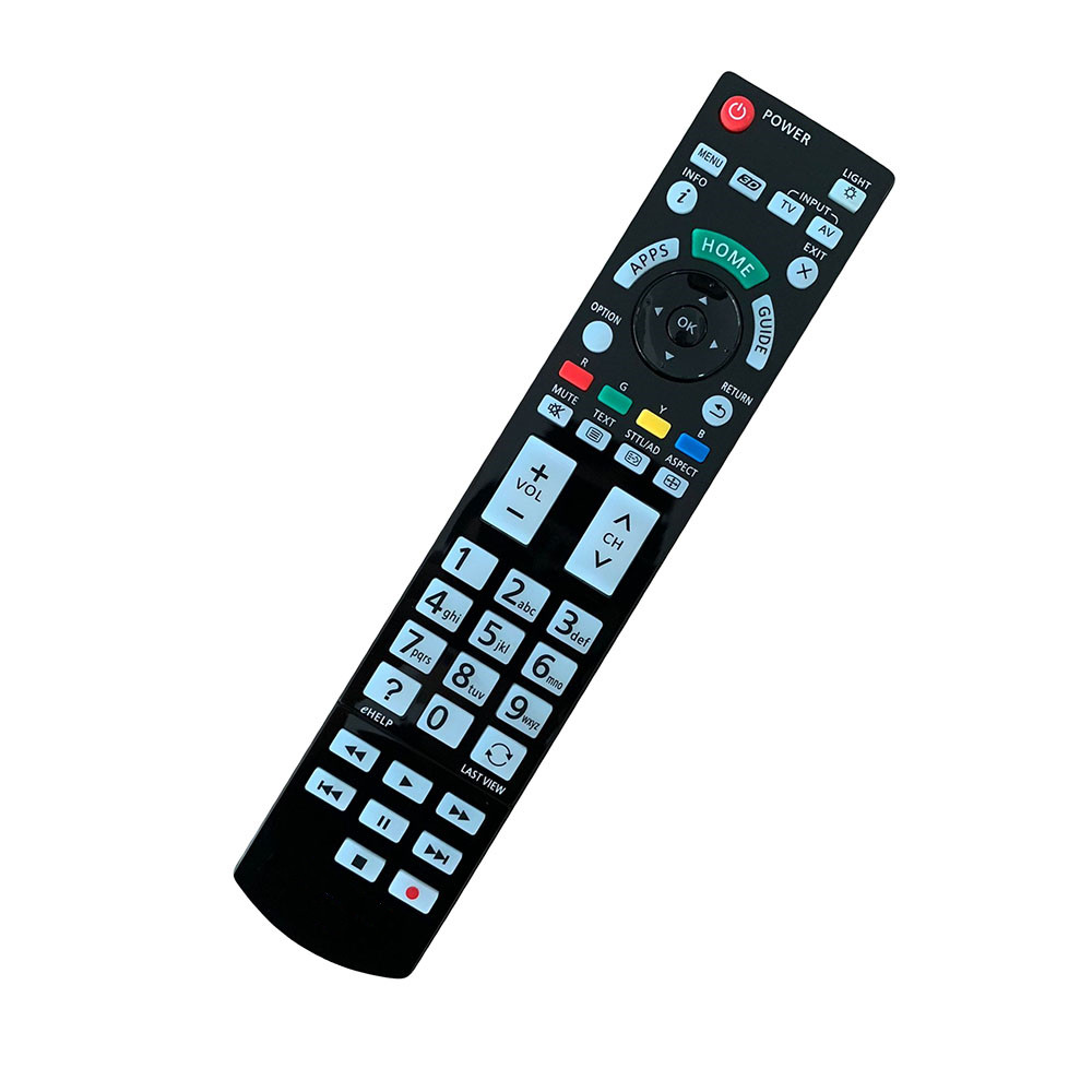 NEW Remote Control Fit For Panasonic N2QAYB000715 TX-L47DT50E TH-55AS5700A TX-L42ET50 TX-L42WT50 TX-L42DT50E LED Viera HDTV TV
