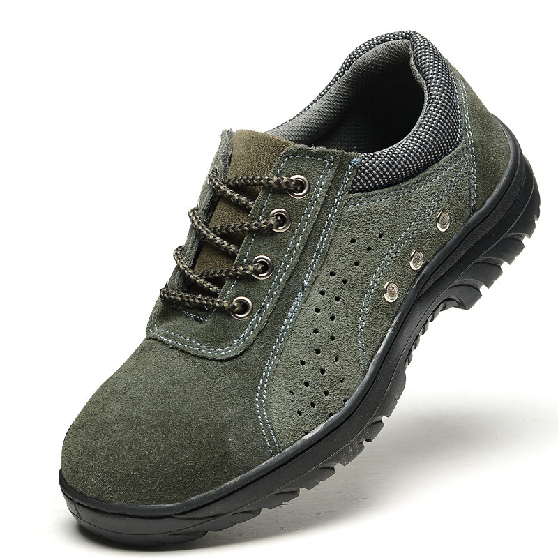 Safety shoes safety shoes protective shoes anti smashing puncture oil resistance acid and alkali factory wholesale in Work Safety Boots from Shoes