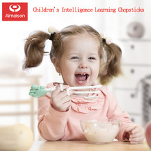 Training Chopsticks Baby Intelligence Learning Chopsticks Health And Environmental Protection Practice Chopsticks Cutlery Set(China)