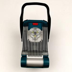 Dla DeWalt 18V dla Makita 18V dla Milwaukee 18V dla Bosch 18V 20V akumulator litowo-jonowy lampa robocza led światło wysokiej jakości