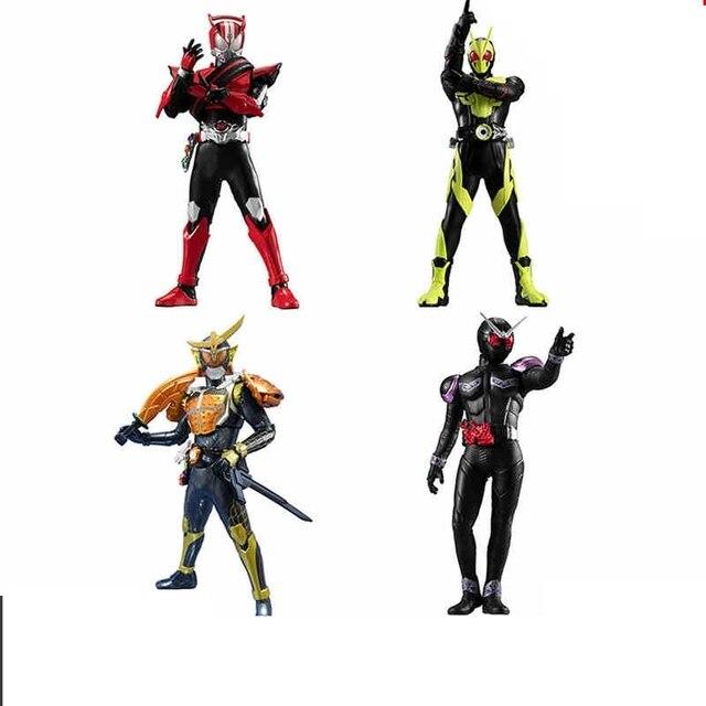 WSTXBD Original BANDAI Kamen rider HG 01 ZIO Riderman gashapon  Figure Brinquedos Toys Figurals Dolls