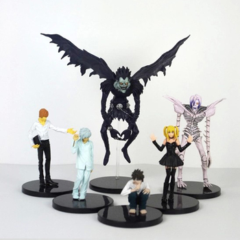 Anime Death Note Figure Toy Ryuuku 6inch PVC Action Figures Model Movie Collection Model Toy Dolls Kids Gift Doll Statue 6pcs set monster figures toy super doll pvc anime action figure model toys doll for kids christmas gift