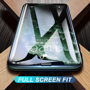 Image 5 - 100D Tempered Glass on the For iPhone X 7 8 6 6S Plus Screen Protector Full Cover Protective Glass iPhone XR XS 11 Pro Max Film
