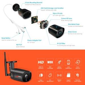 Image 2 - ANRAN 1080P IP Camera Wireless Security Camera Outdoor HD Surveillance Night Vision Home Wifi Camera Metal Bullet Camera