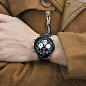 Image 4 - BENYAR Luxury Brand Men Analog Digital Leather Sports Watches Mens Army Military Watch Man Quartz Clock Relogio Masculino