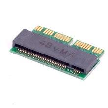 M schlüssel M.2 PCI e NVMe SSD Adapter Karte für MACBOOK Air Pro A1398 A1502 A1465 A1466 iMAC A1419 Mac mini 2013 2014 2015 2016 2017