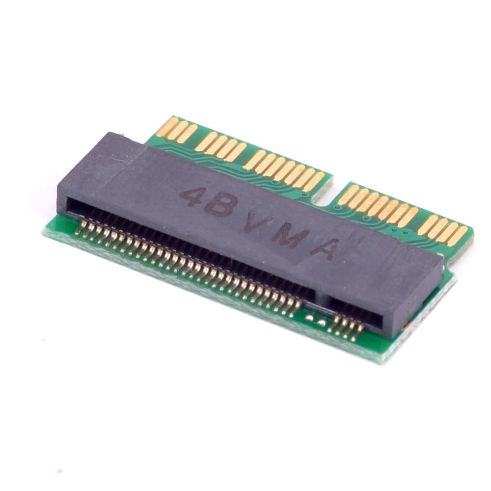 Touche M M.2 PCI-e NVMe SSD Carte Adaptateur pour MACBOOK Air Pro A1398 A1502 A1465 A1466 iMAC A1419 Mac mini 2013 2014 2015 2016 2017