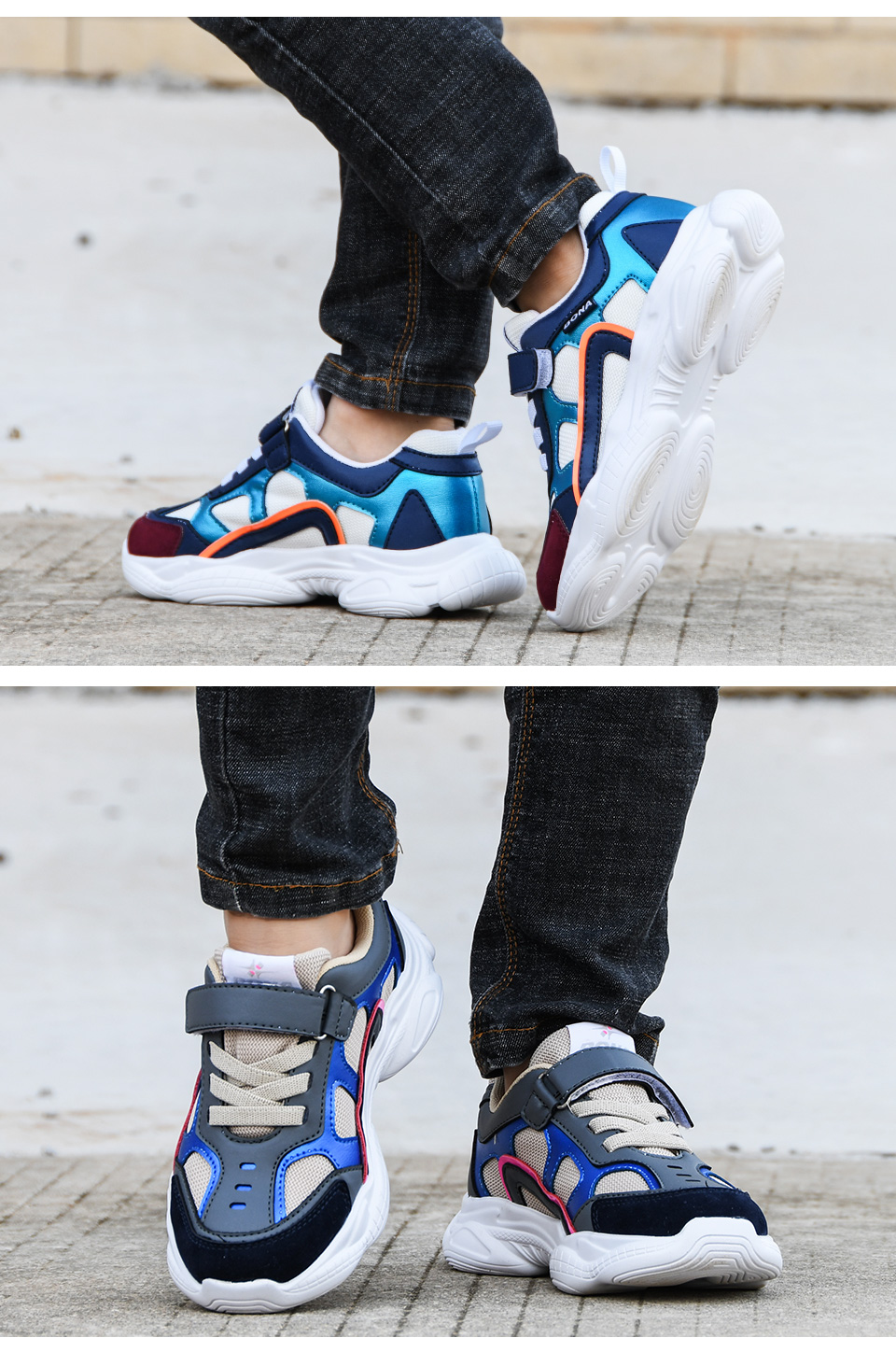 esporte sapatos meninos lazer formadores casuais respirável